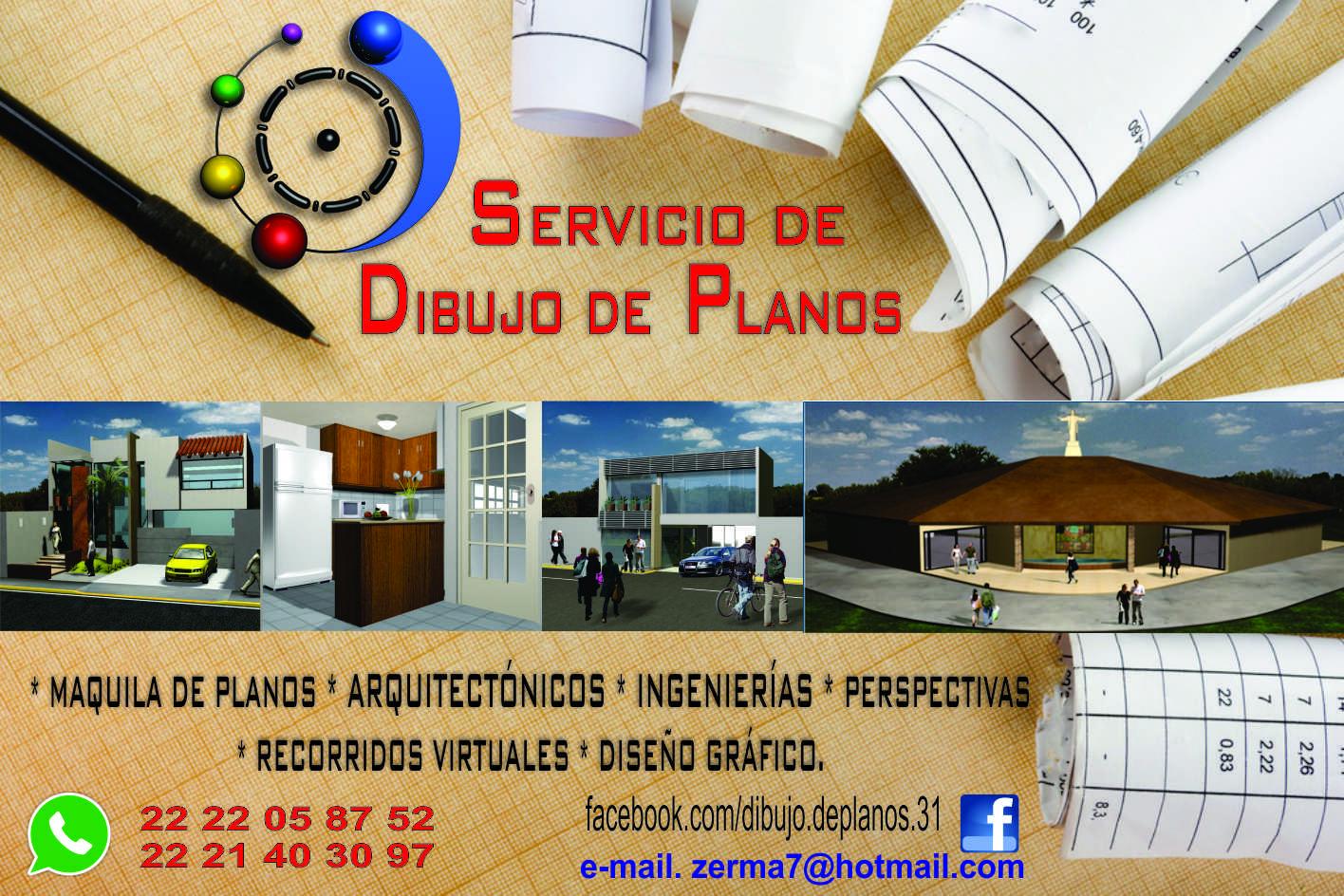 SERVICIO DE DIBUJO DE PLANOS EN PUEBLA