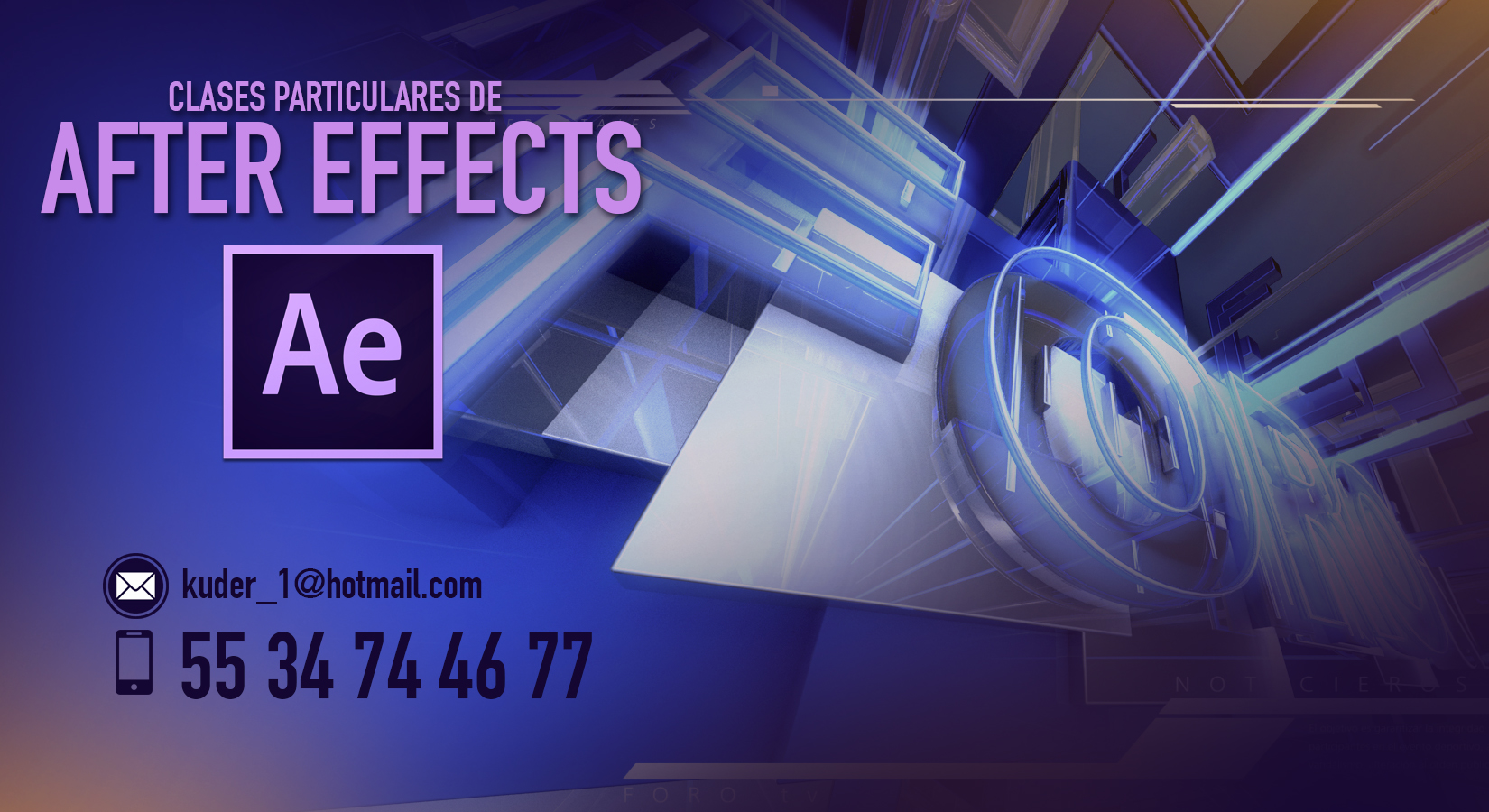 Cursos Particulares de Adobe After Effects