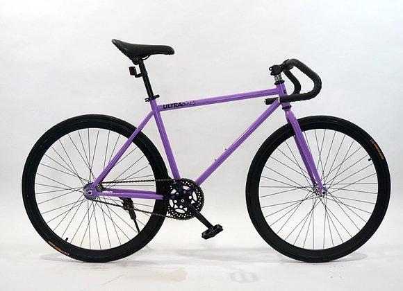 Bicicleta Fixie Versión Carrera Morado