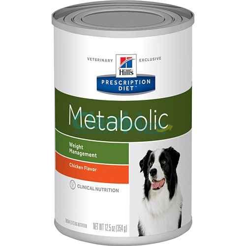 Alimento Hills Metabolic Húmedo Canino