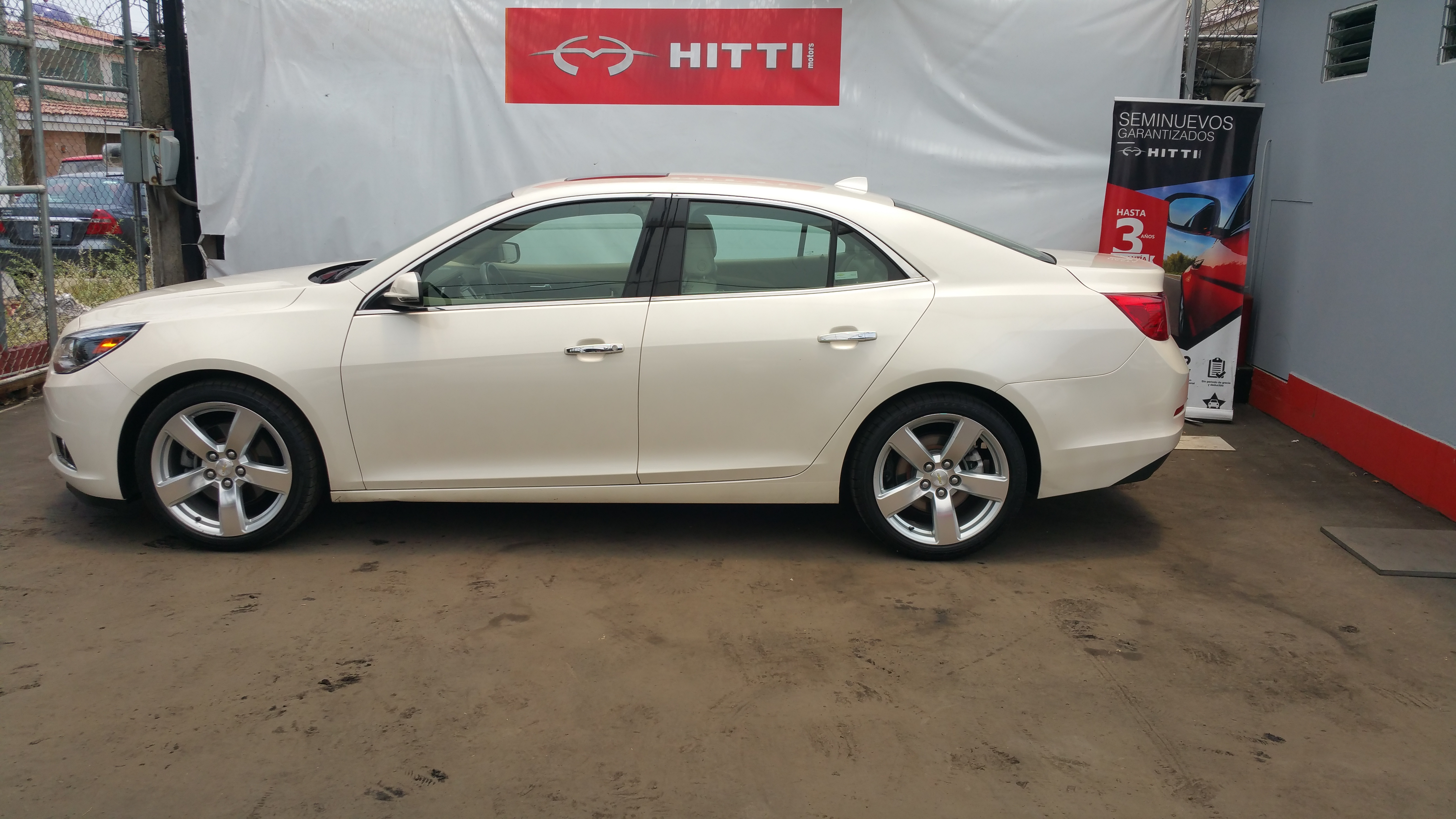 IMPECABLE CHEVROLET MALIBU 2013 LTZ BLANCO DIAMANTE.