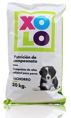 XOLO cachorro 20 kg