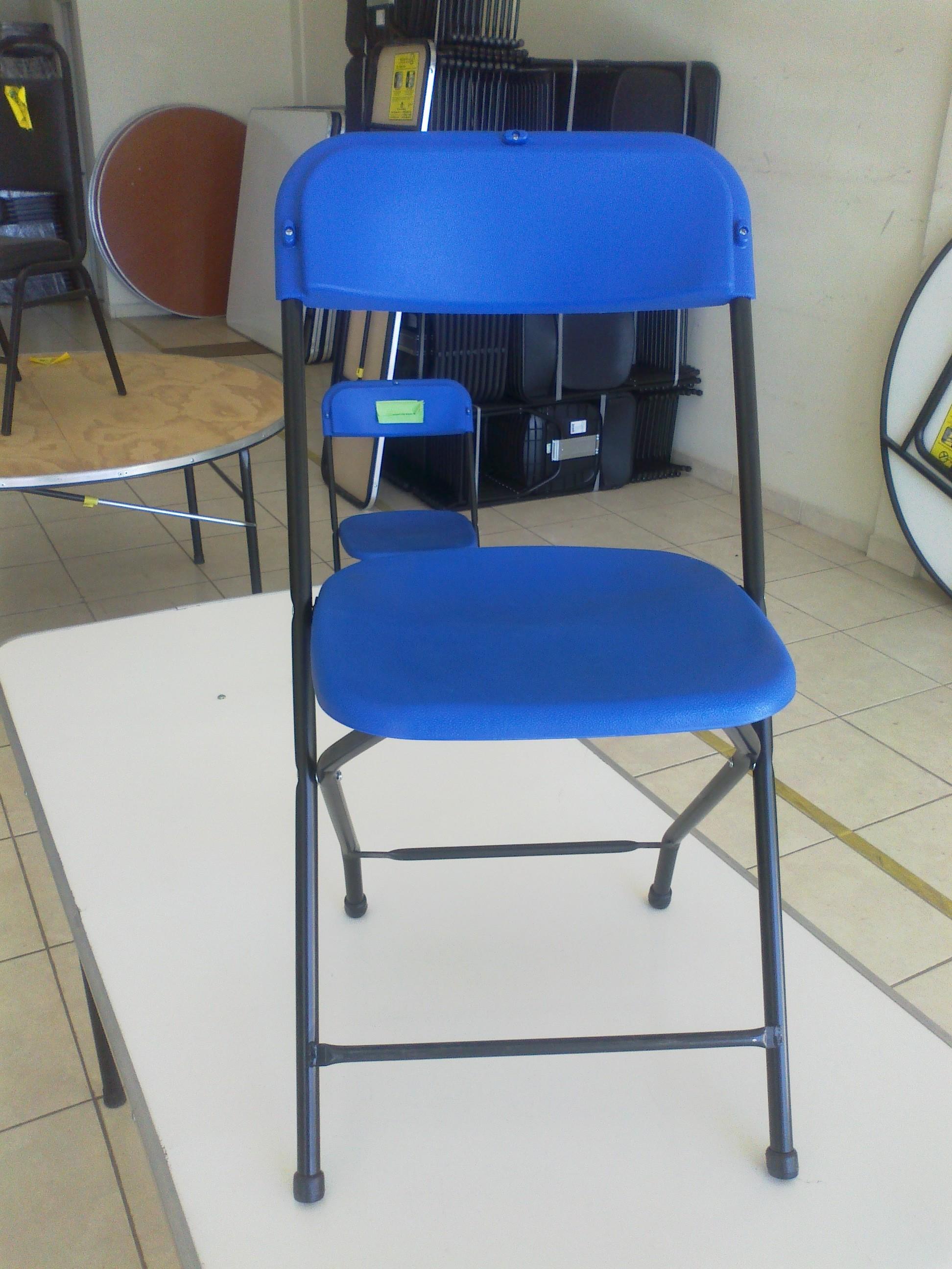 Venta de mobiliario para eventos sociales sillas y mesas for Sillas y mesas plegables