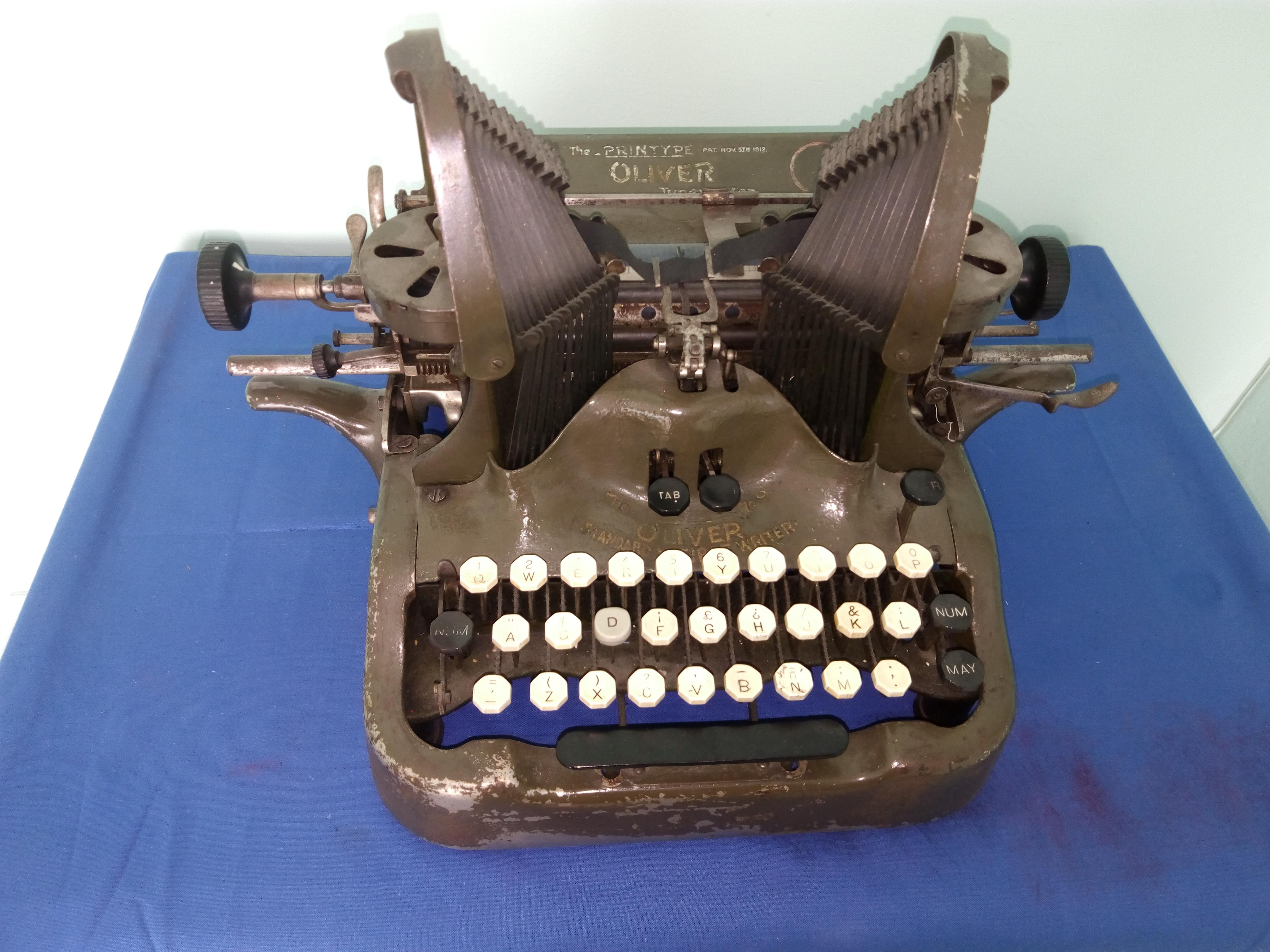 Máquina de escribir Elegante y Funcional