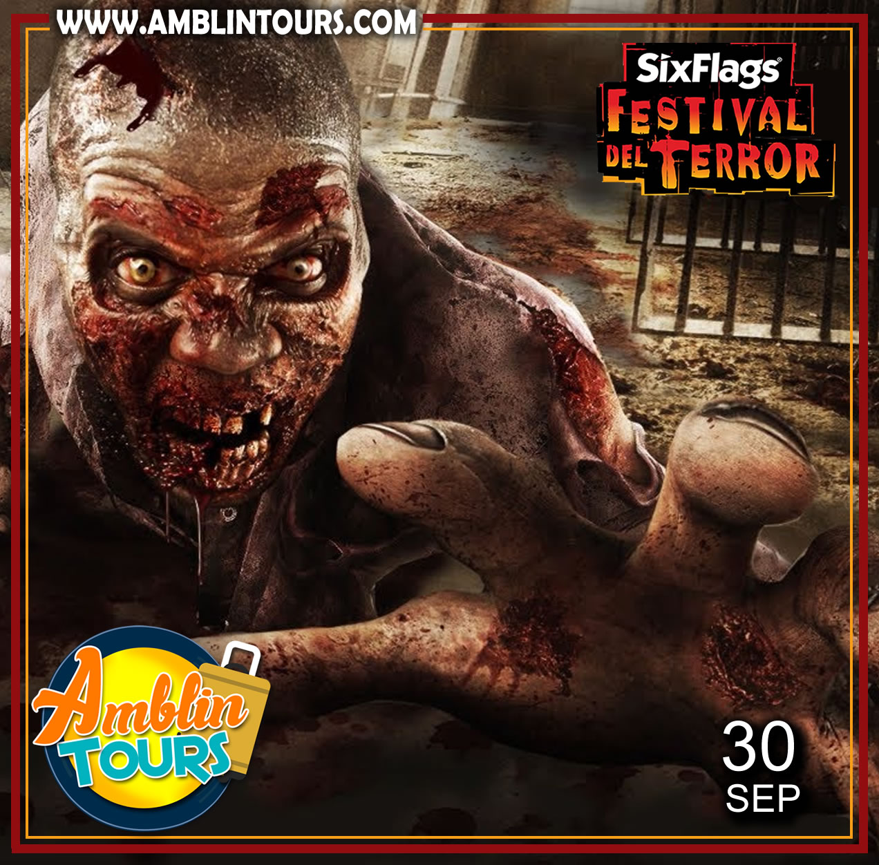 FESTIVAL DEL TERROR, SIX FLAGS MEXICO 2017