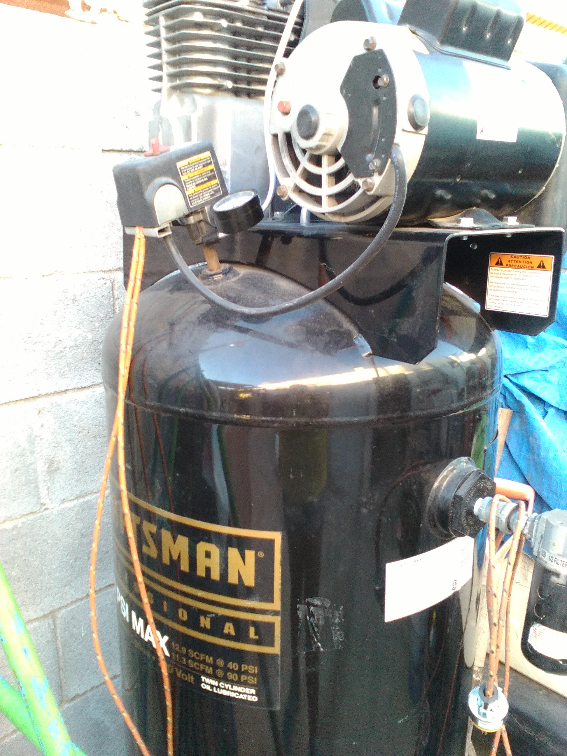 Compresor de aire 60 galones craftman nuevo postealomx - Compresor de aire precio ...