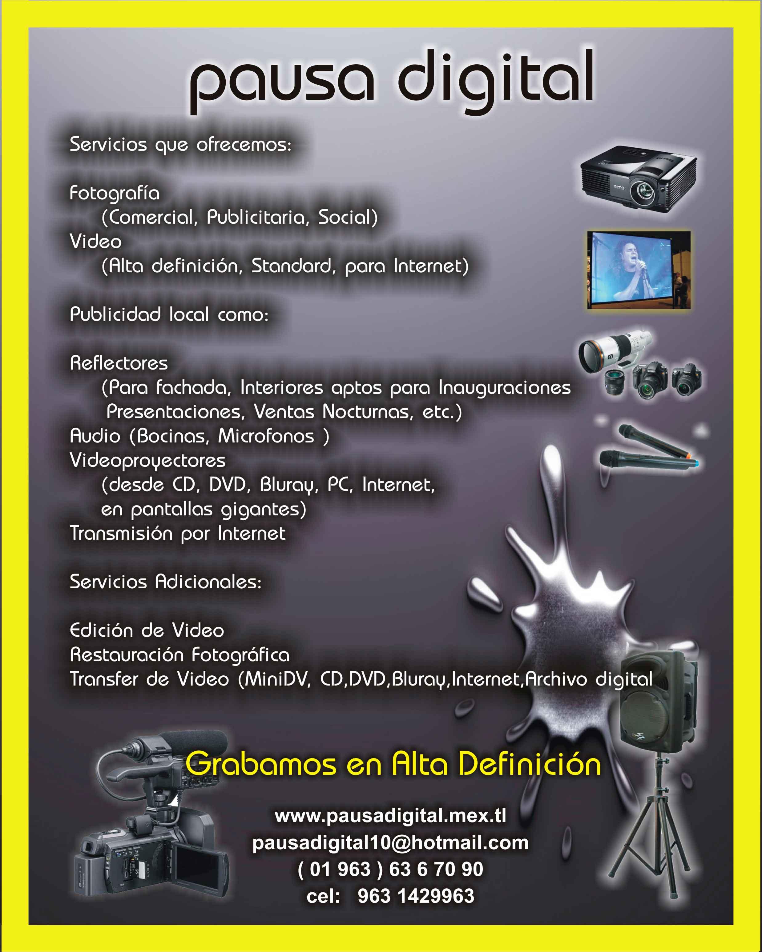 Fotografia Video Publicidad