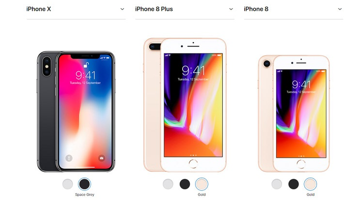 Smartphone Apple iPhone 8 plus 64GB 256GB