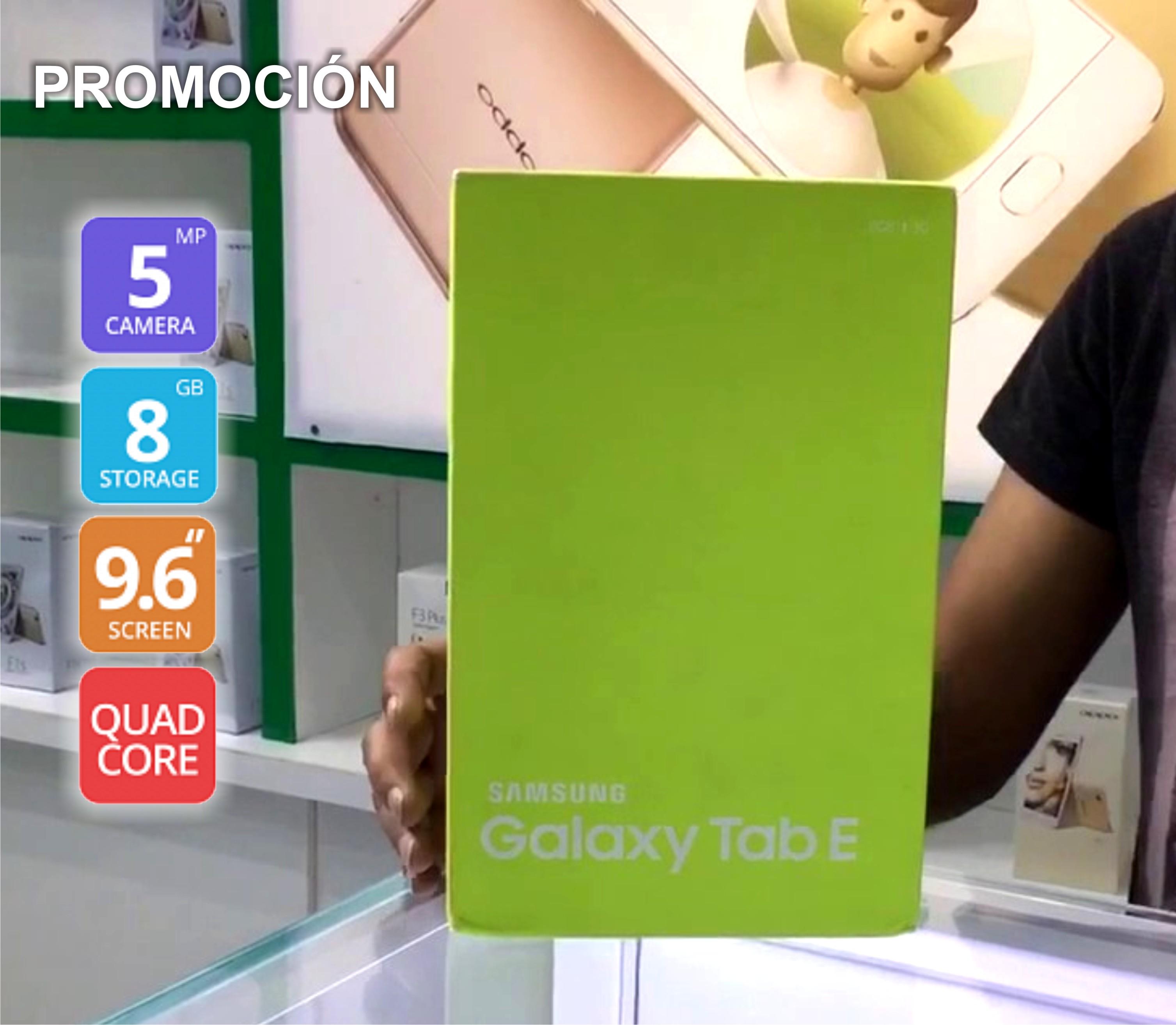 Galaxy Tab E 9.6 Samsung NUEVA Excelente precio