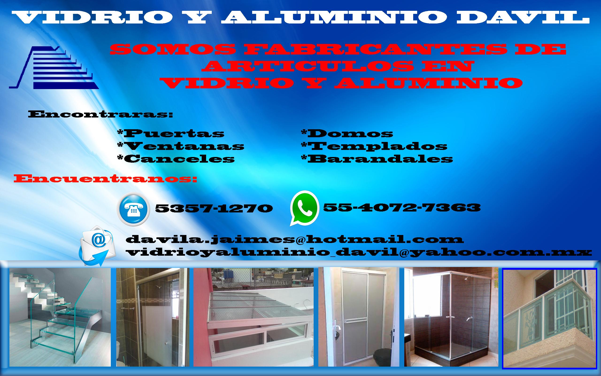 VIDRIO Y ALUMINIO DAVIL