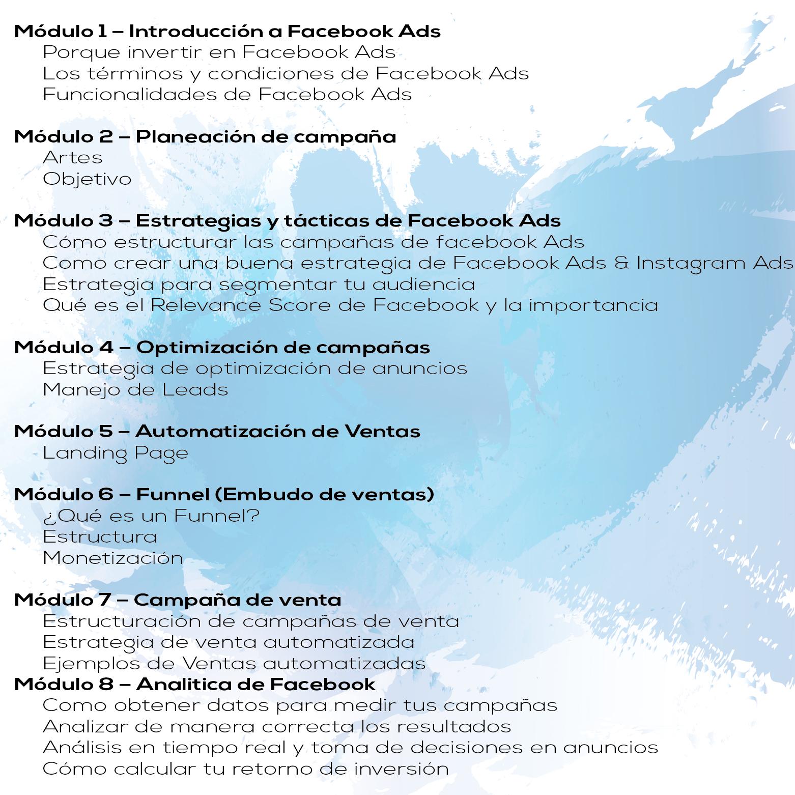Curso de Facebook en Guadalajara