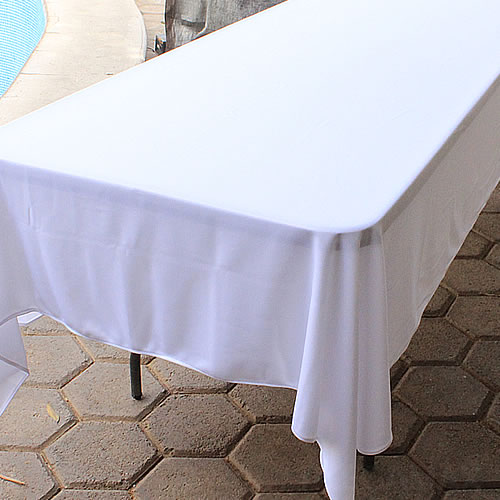 Venta de Manteles Rectangulares blancos para Vestir Tablones