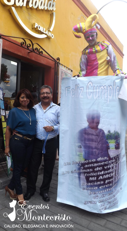 ZANQUEROS SORPRESA EN PUEBLA