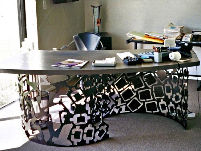 Corte cnc para escritorios
