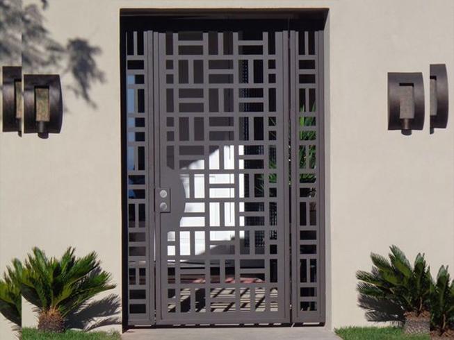 Puertas diseñadas a su gusto con corte plasma cnc