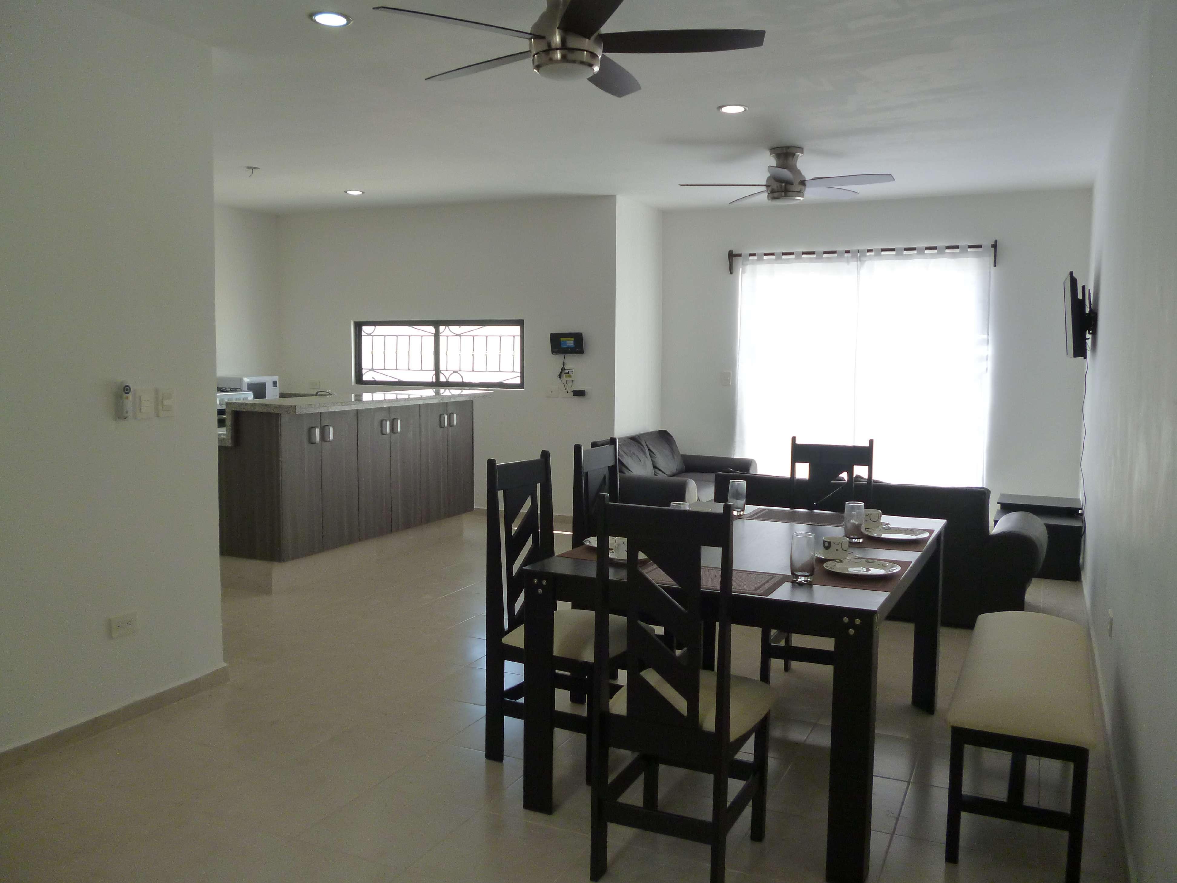 En merida zona norte casa amueblada de 3 habitaciones en for Casa con piscina zona norte merida