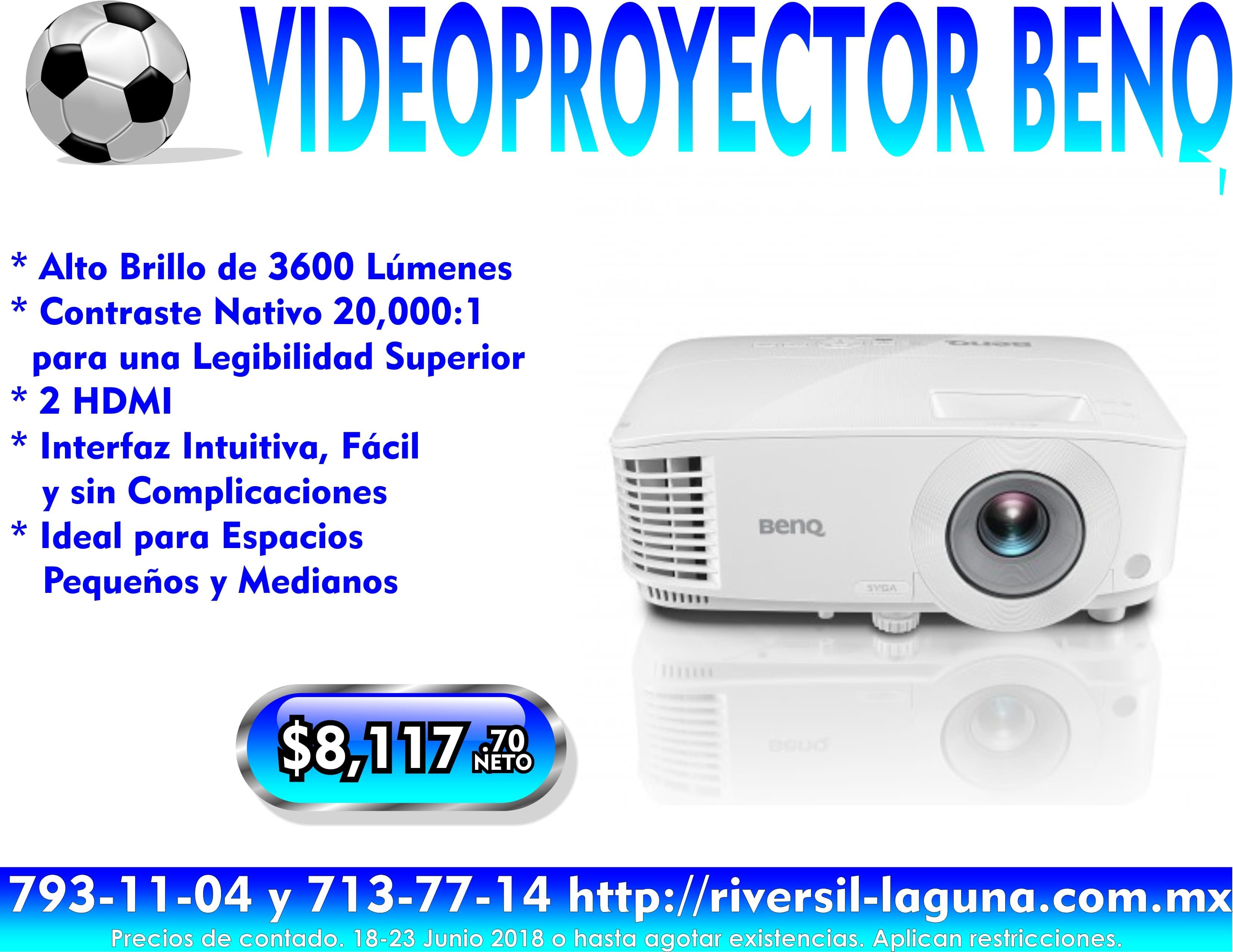 VIDEOPROYECTOR BENQ MS550