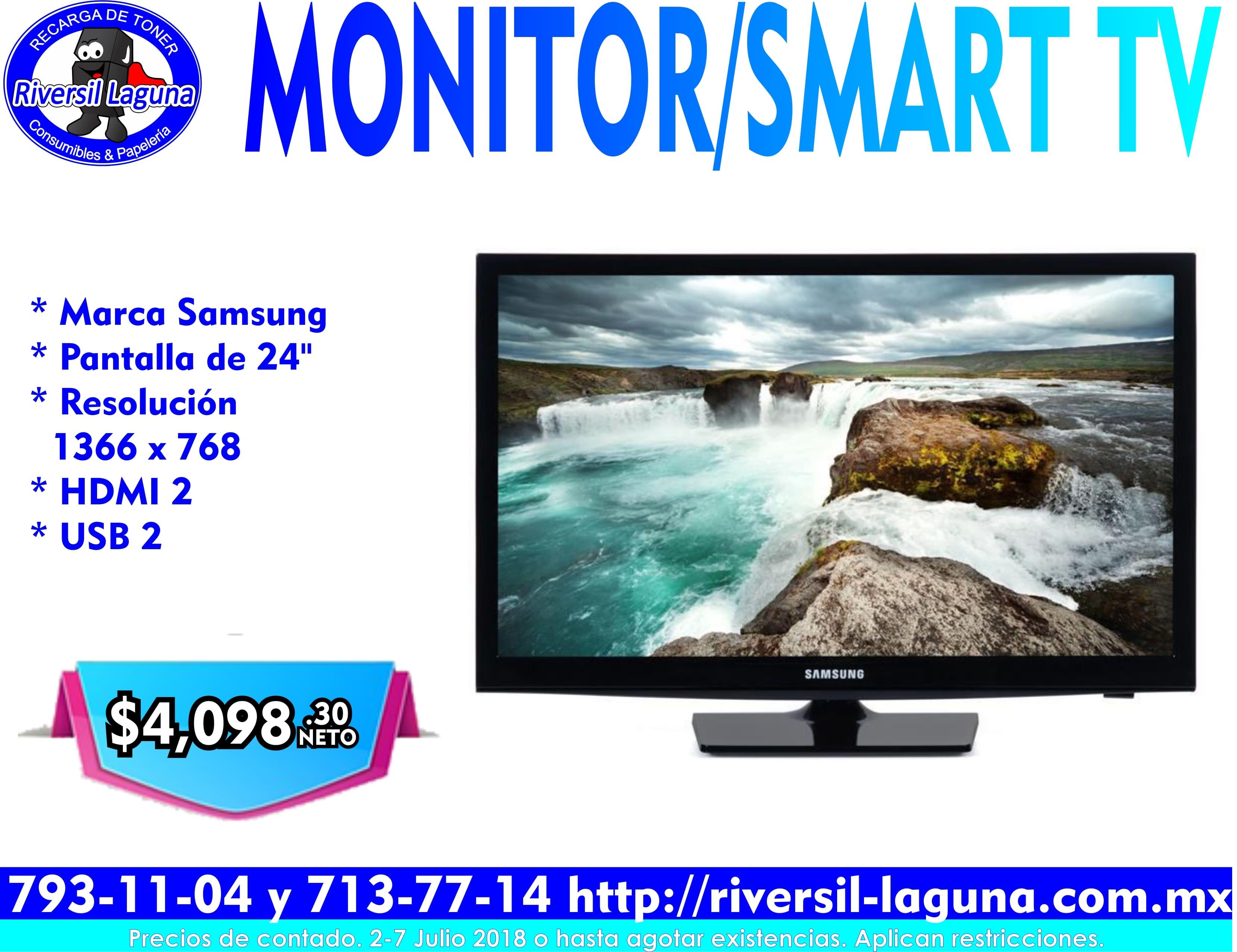 MONITOR/SMART TV SAMSUNG