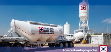 Venta de Concreto Premezclado con la calidad Cruz Azul