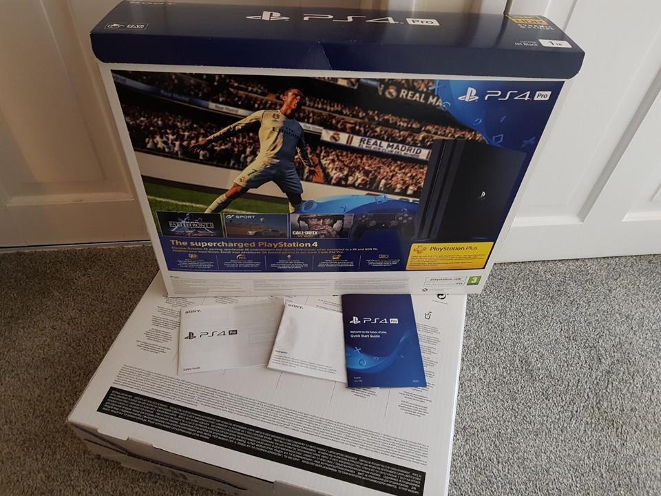 Consola de juegos Sony PlayStation 4 Pro 1TB 4K