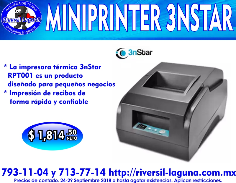 MINIPRINTER RPT001 3NSTAR