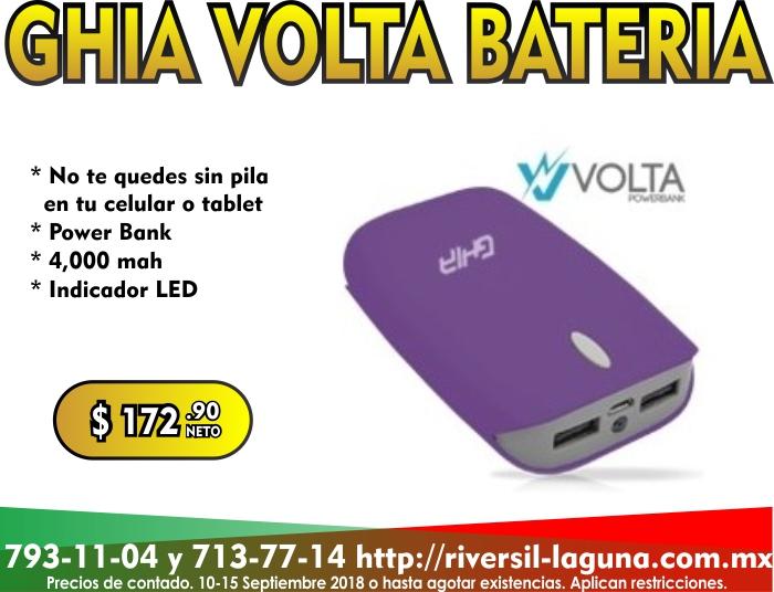 POWER BANK GHIA VOLTA
