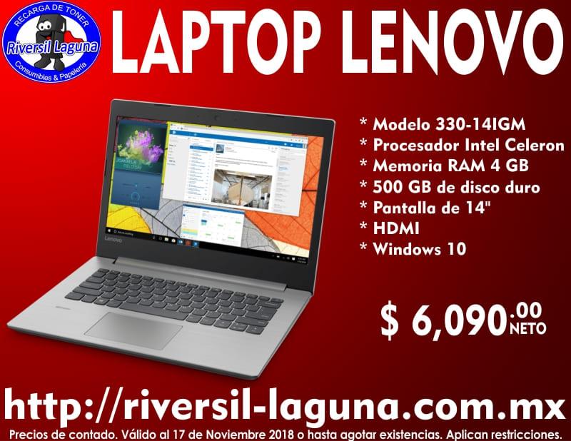 LAPTOP LENOVO 330-14IGM