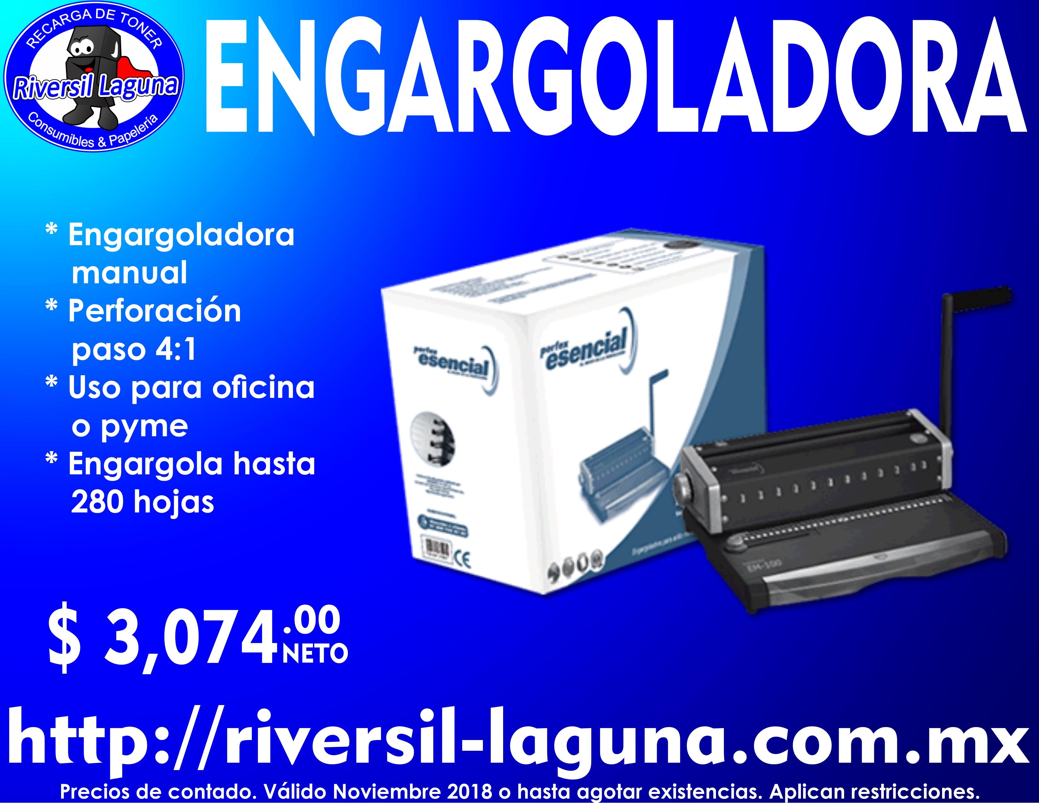 ENGARGOLADORA PERFEX EE100