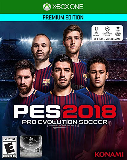 Pro Evolution Soccer 2018 – Premium Edition – Xbox One