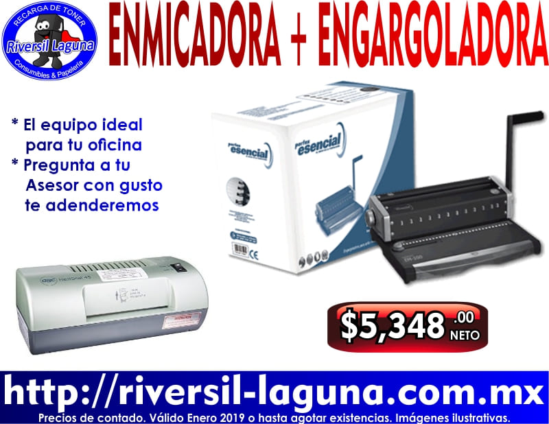 ENMICADORA Y ENGARGOLADORA