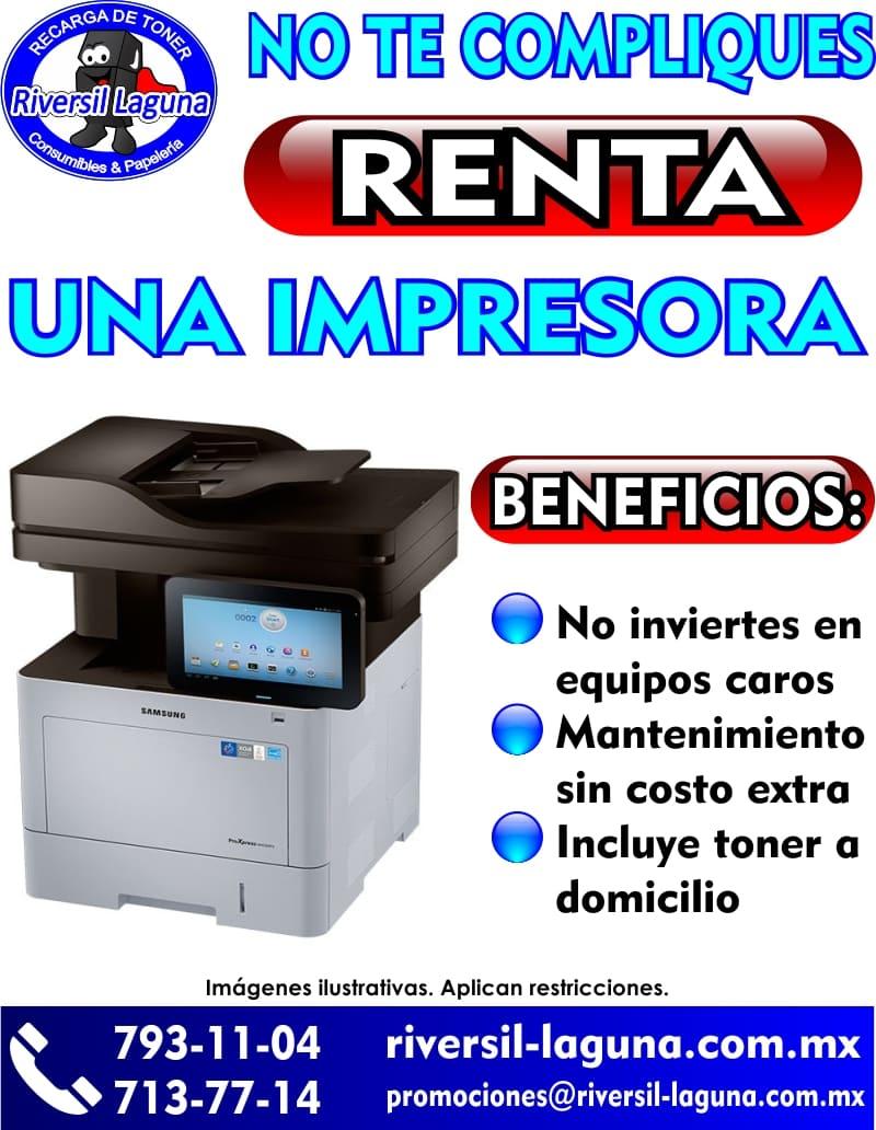 RENTA DE IMPRSORAS