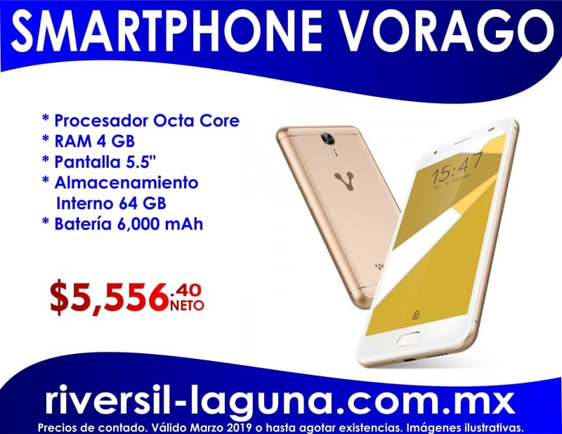 SMARTPHONE VORAGO CELL 500 PLUS