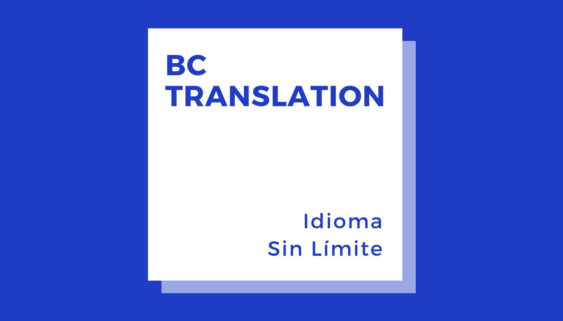 Servicio Intérprete Chino – Español