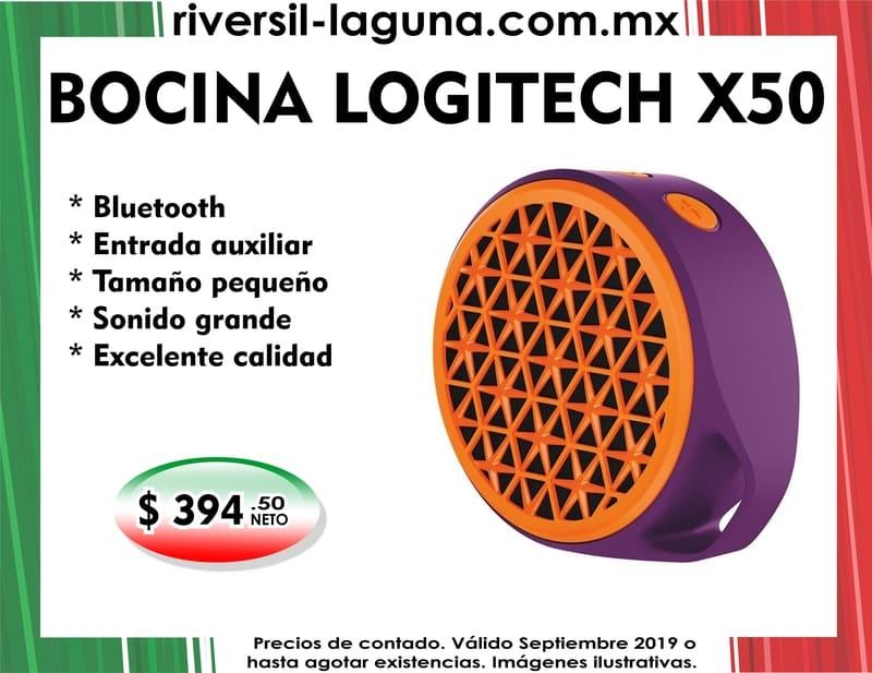 BOCINA LOGITECH X50