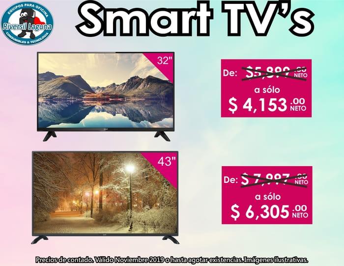 SMART TVS DE DESCUENTO