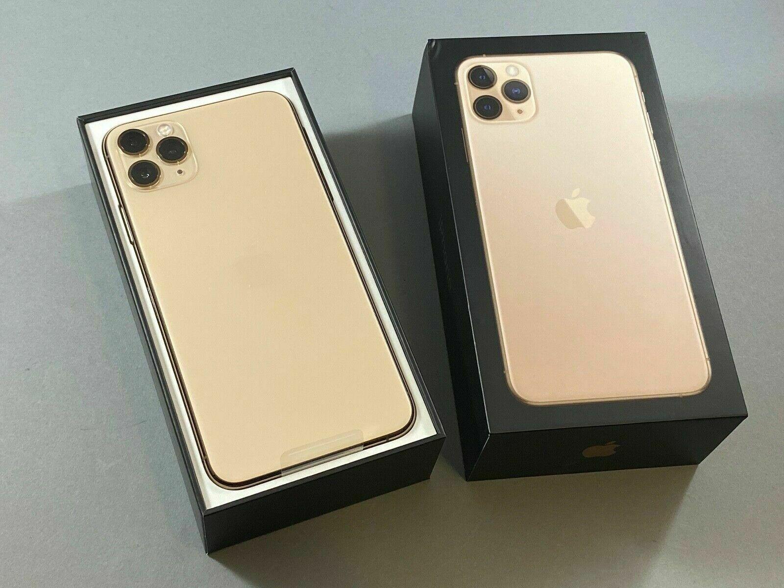 Apple iPhone 11 Pro Max 256GB Todos los colores(Desbloqueado)Garantía de Apple